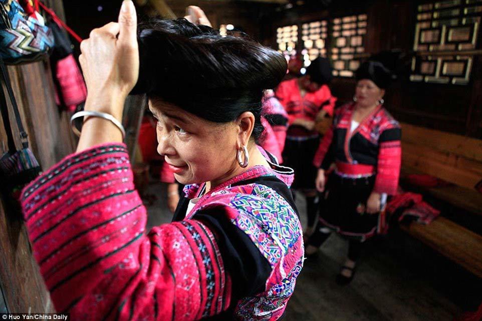 người Yao, Trung Quốc, tóc dài, kỷ lục