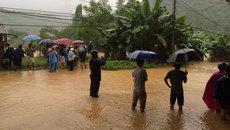 Dừng lưu thông tuyến đường Lào Cai - Lai Châu