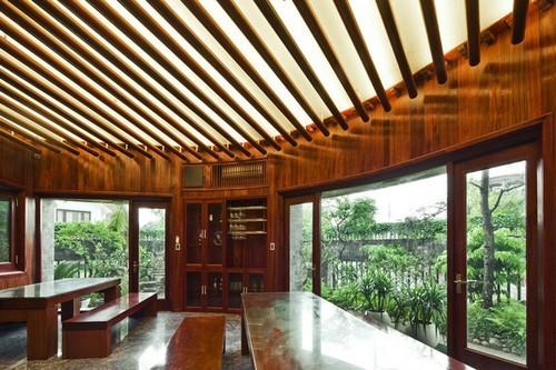 Thiết kế mẫu nhà biệt thự đẹp với không gian xanh mát