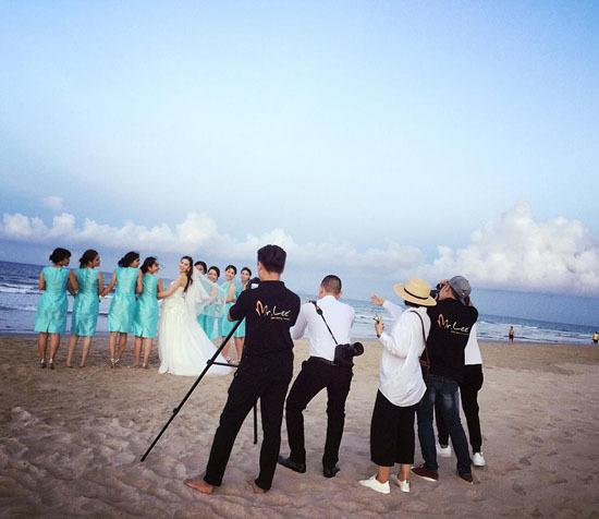 Ảnh cưới đẹp như mơ của MC thời tiết đẹp nhất VTV