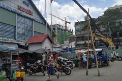 Nổ hóa chất sát chợ 'thần chết' ở Sài Gòn