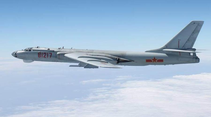 Trung Quốc, tuần tra chiến đấu trên không, chiến đấu cơ, máy bay ném bom, Su-30, Trường Sa