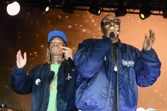 Snoop Dogg,  Wiz Khalifa, concert, tai nạn