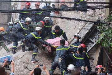 Khởi tố hình sự vụ sập nhà 4 tầng, 2 người chết