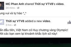 MC Phan Anh, Quốc Khánh tự hào vì kỳ tích Việt tại Olympic