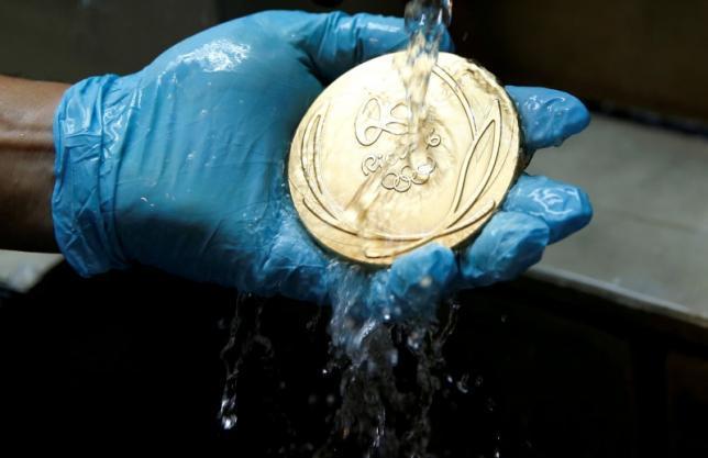 Huy chương vàng Olympic có giá bao nhiêu?