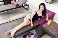 """Chùm ảnh """"độc"""" của tân Hoa hậu bản sắc Việt toàn cầu 2016"""