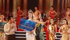 Thu Ngân đăng quang Hoa hậu bản sắc Việt toàn cầu