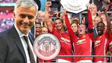 Mourinho tuyên bố tặng Siêu cúp Anh cho Van Gaal