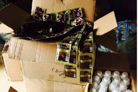Hàng loạt mỹ phẩm Trung Quốc đội mác 'Made in Viet Nam'