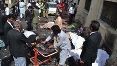 Đánh bom bệnh viện, 30 người thiệt mạng