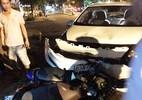 Cảnh sát cơ động lái ôtô tông xe máy gây chết người