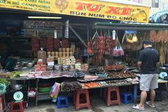 Chợ Miên độc đáo giữa lòng Sài Gòn