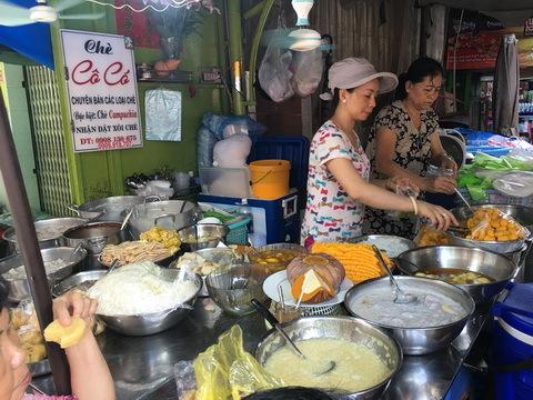 Chợ Miên, Sài Gòn, khô cá lóc, Camphuchia, quận 10, Lê Hồng Phong