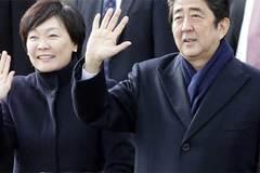 Vợ thủ tướng Nhật tham gia biểu tình chống chính phủ