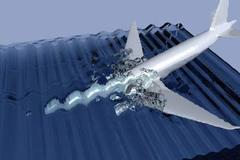 MH370 đã rơi xuống biển với tốc độ cao