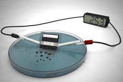Pin tự hủy, tan khi gặp nước trong vòng 30 phút