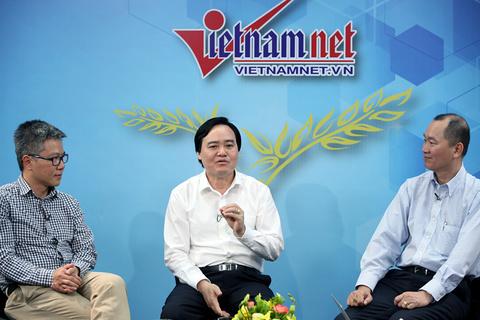 Bộ trưởng Phùng Xuân Nhạ bàn về hiệu trưởng