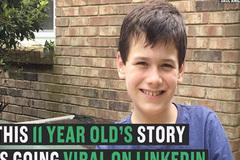 Cậu bé 11 tuổi khởi nghiệp từ việc dọn rác, lấy tiền học đại học