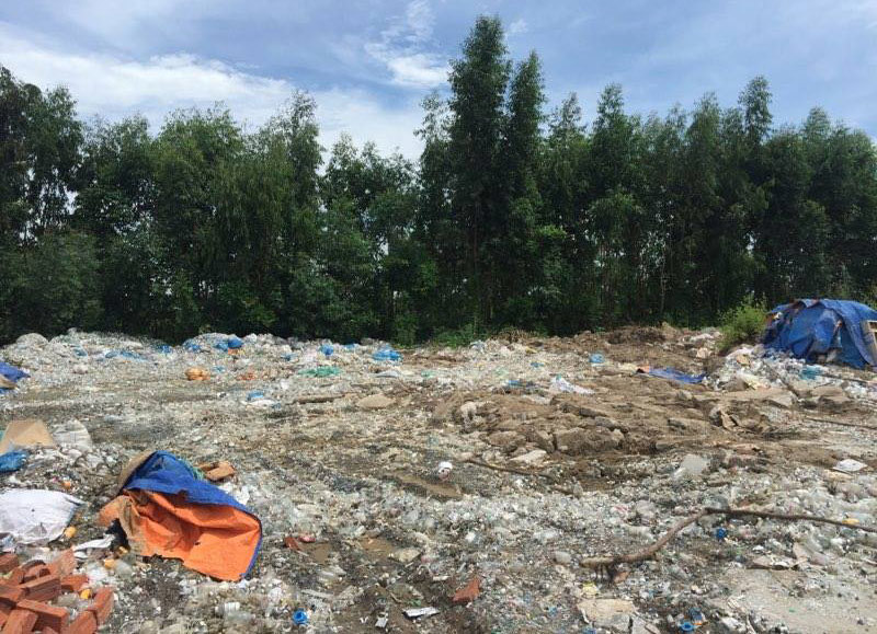 Núi rác thải Y tế khổng lồ đã 'hô biến'