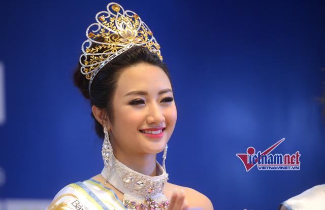 Hoa hậu Thu Ngân, người đẹp Hải Phòng, Hoa hậu bản sắc Việt toàn cầu