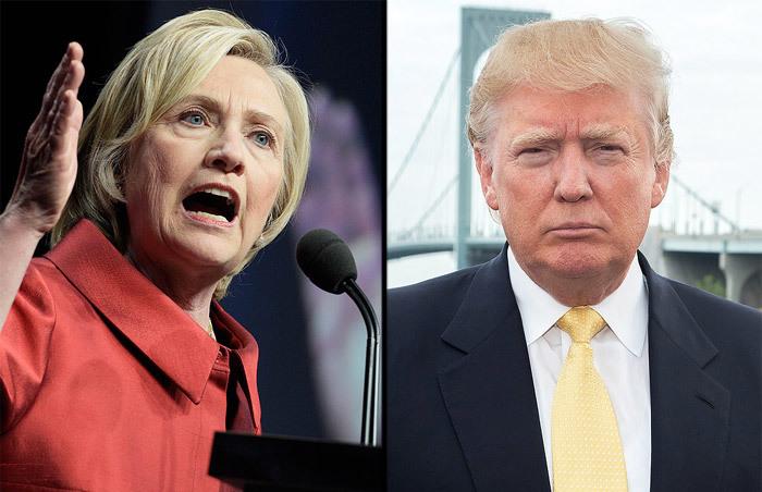 Trump, Hillary, khẩu chiến, dữ dội, ứng viên, tổng thống, Mỹ