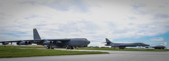 Mỹ, ném bom, Thái Bình Dương, máy bay, phi cơ, Guam, hạt nhân