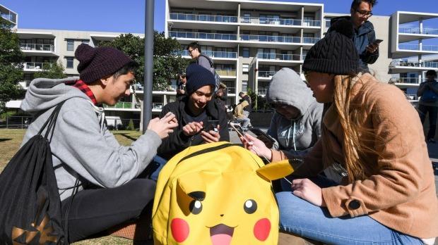 Pokemon Go, trường học