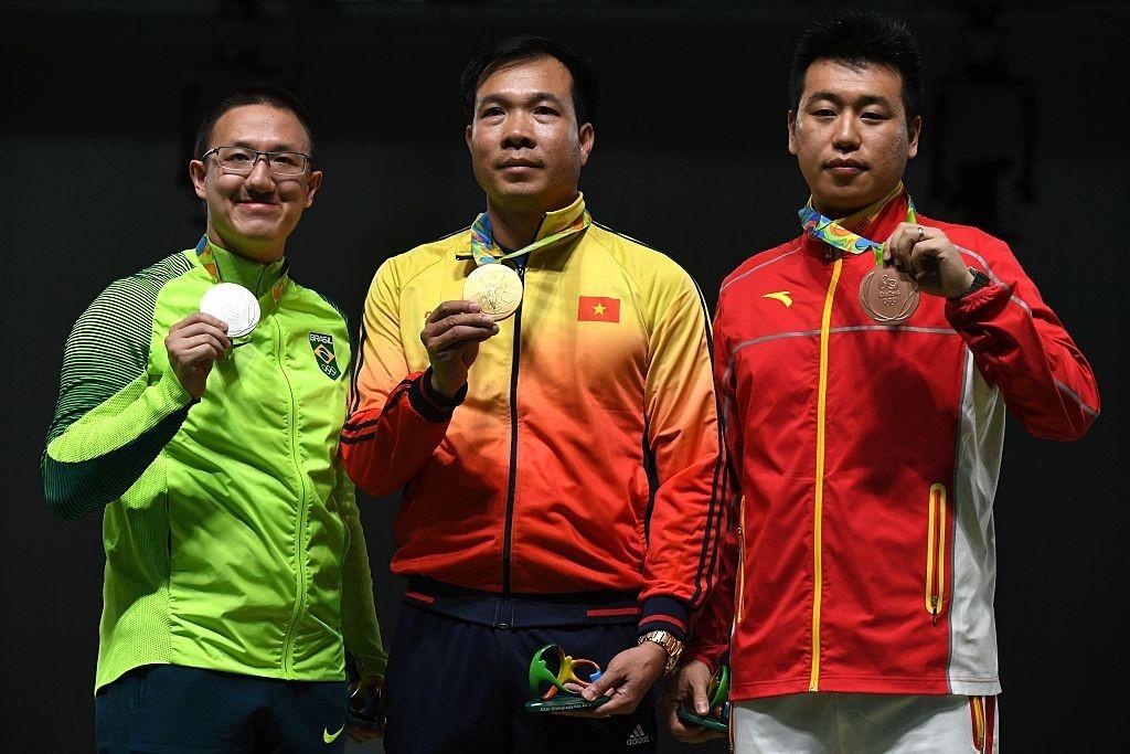 Hoàng Xuân Vinh, đoàn Việt Nam, Olympic Rio 2016, xạ thủ Quân đội, top 5 Olympic