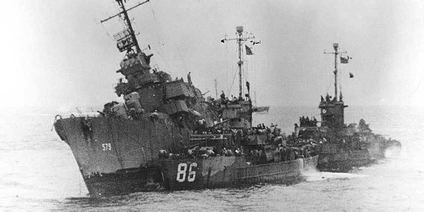 Bí ẩn chiến hạm suýt giết chết Tổng thống Mỹ