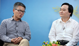 GS Châu phản biện Bộ trưởng Nhạ về bỏ biên chế giáo dục