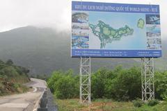 Chuyển địa điểm dự án của người Trung Quốc trên đèo Hải Vân