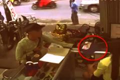 Tên trộm lấy iPhone 6 trước mắt cô gái như 'ảo thuật gia'