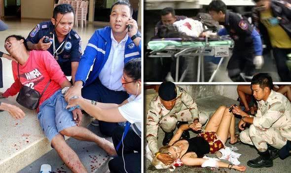 Bom nổ ở hàng loạt điểm du lịch hút khách của Thái