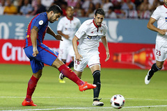 Video bàn thắng Barcelona 2-0 Sevilla