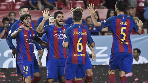 Messi tịt ngòi, Barca vẫn thắng dễ Sevilla