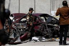 Nổ bom gần sứ quán Mỹ ở Kabul