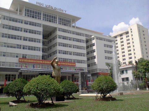HV Quân y công bố điểm chuẩn đại học dự kiến hệ dân sự