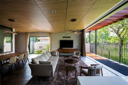 ngôi nhà đẹp, ngôi nhà Nam Thong, nhà đẹp Sài Gòn, thiết kế nhà với không gian xanh