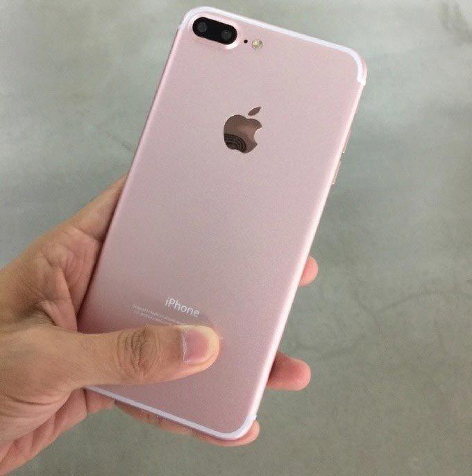 iPhone 7 Plus vàng hồng lộ diện cực đẹp