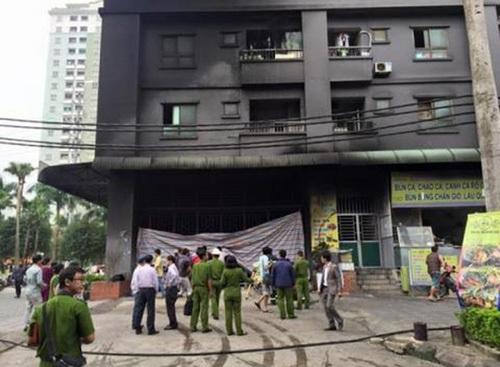 chung cư đại gia điếu cày, phòng cháy chữa cháy chung cư, an toàn cháy nổ chung cư