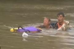 Chàng trai gốc Việt dũng cảm cứu người trong trận lũ lịch sử tại Mỹ