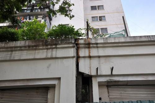 chung cư Đền Lừ, chung cư chờ sập, công trình xây dựng xuống cấp