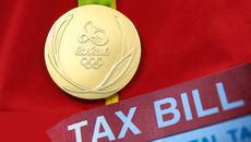 Huy chương vàng Olympic cũng nặng gánh nộp thuế