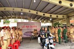 """Cảnh sát hóa trang trước quán nhậu, xử lý """"ma men"""" ở Sài Gòn"""