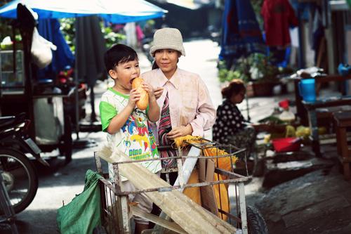 Hình ảnh hiếm thấy của cây hài Việt Hương