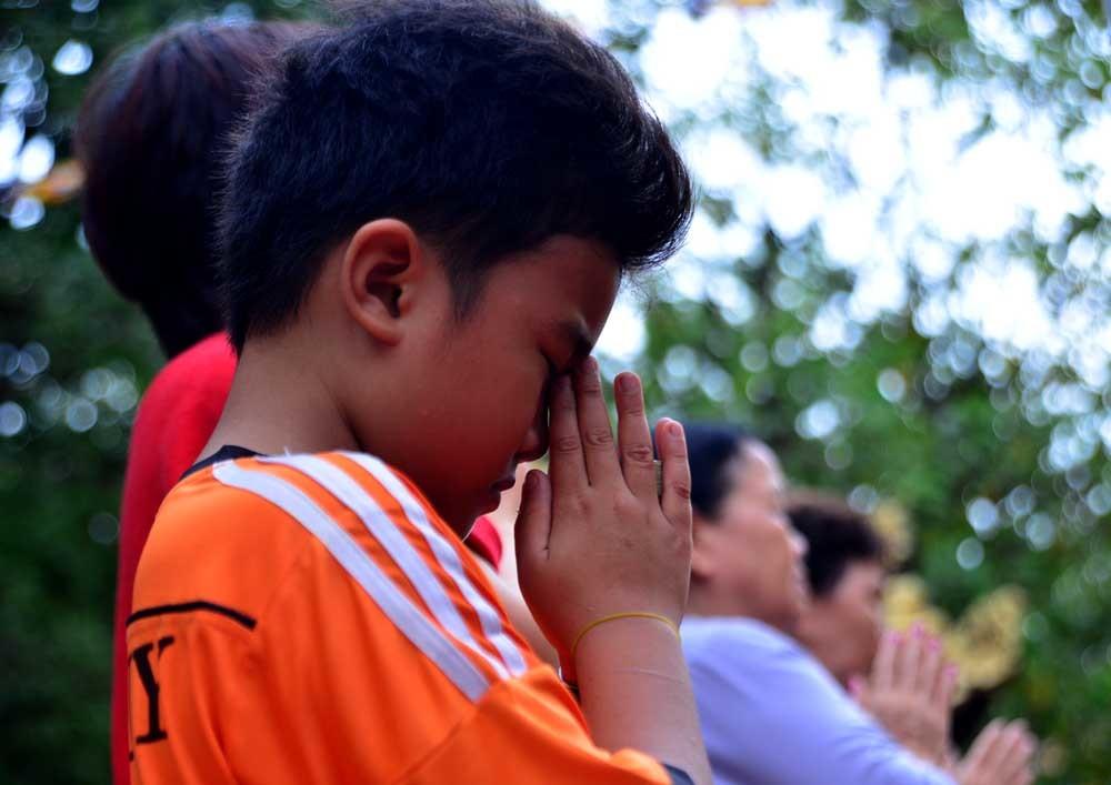 Hàng nghìn người dự lễ Vu lan ở Sài Gòn