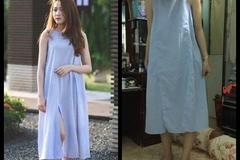 Cô nàng mua váy online, nhận hàng 'váy của sản phụ đi đẻ'