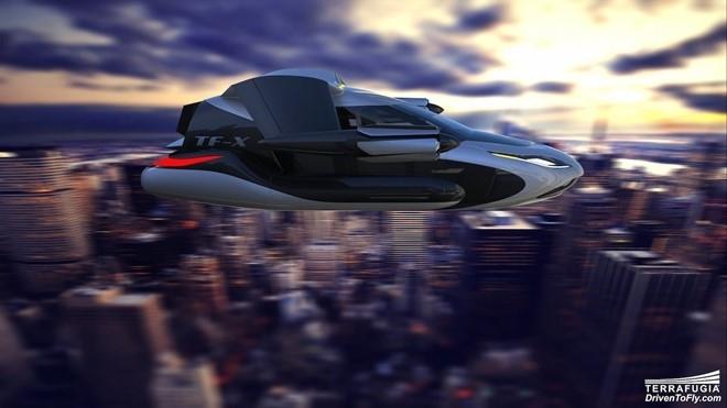 Cận cảnh xe bay đang thử nghiệm tại Mỹ