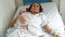 Mẹ bệnh nặng, con 13 tháng bơ vơ uống nước cơm thay sữa